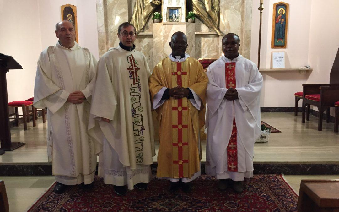 Visita del vescovo congolese Sebastiano MUYENGO Mulombe