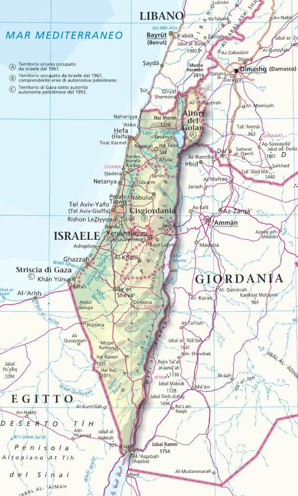 Cartina Stradale Israele.Pellegrinaggio In Terra Santa 11 18 Novembre 2019 Parrocchia Sacra Famiglia