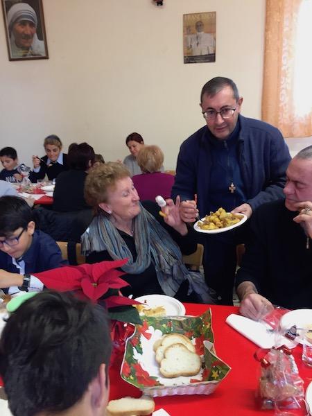 Pranzo di fraternità per la festa del povero