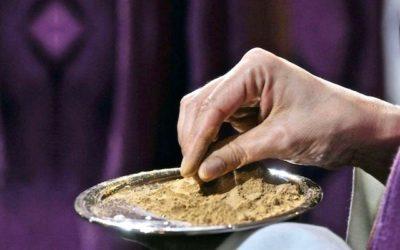 Mercoledì delle ceneri: orari S.Messe